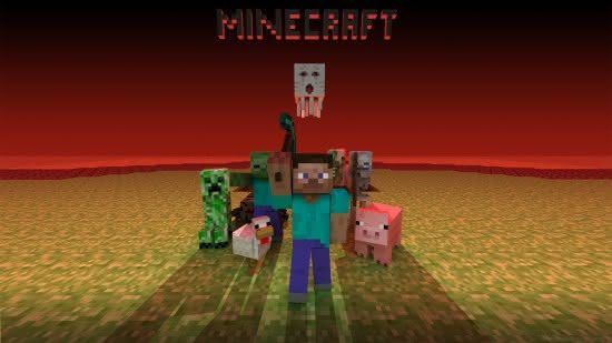 Minecraft hd backgrounds 2